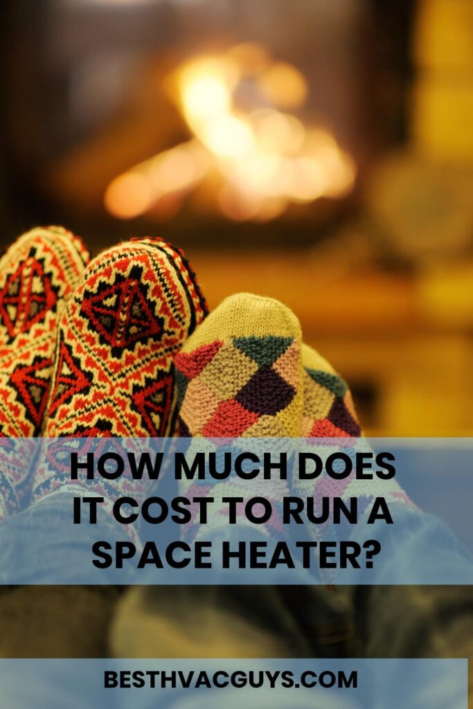 How much does it cost to run a space heater?