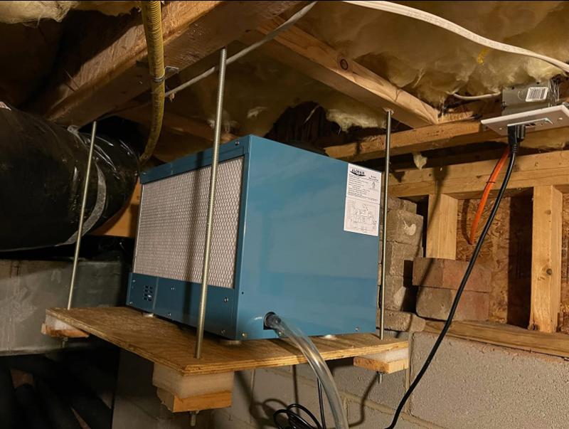 dehumidifier for crawl space